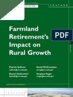 Farmland Retirement's Impact on Rural Growth