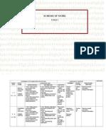 129935410 Yearly Scheme of Work 2013 English Language Form 5
