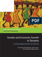 Gender and Economic Growth in Tanzania (2007)