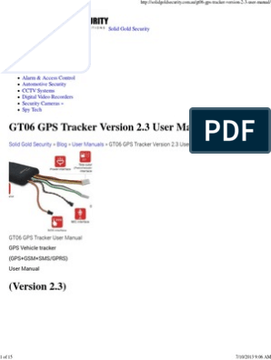GT06 GPS Tracker Version 2   Subscriber Identity Module