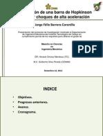 Implementación de una barra de Hopkinson 121214