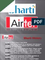 Airtel Presentation by NAIK IRSHAD
