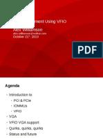 Kvm Forum 2013 Vfio Vga