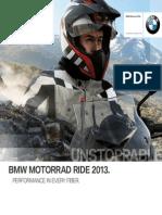 BMW Motorrad USA Ride Catalog 2013
