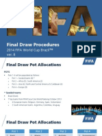 FIFA WC14 Draw Procedure
