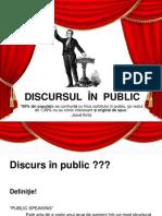 Discursul in Public