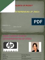 Entrepreneur Management - powerpoint