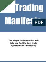 My Trading Manifesto