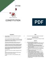 Paringa Football Club Constitution