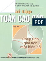 Bai Tap Toan Cao Cap - Nguyen Dinh Tri [2]