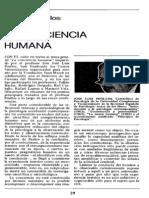 La conciencia humana - José Luis Pinillos
