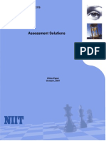 NIIT Assessment Practice White Paper Oct 07
