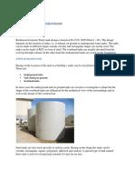 Rcc Water Tank Design Basis