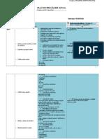 Plan Anual de Pregatire Clasa I-IV