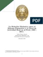 La Relación Dinámica entre el Sector Financiero y el Sector Real en el Perú