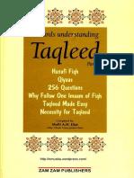 Taqleed Part1 Complete ACompilationOfBookletsOnTheSubjectOfTaqleed