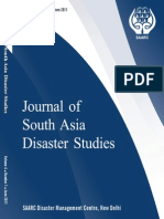 Journal of South Asian Disaster Studies 2011