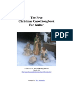 Christmas Carol Songbook for Guitar