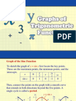 Graphs of Sine Cosine and Tangent Functions