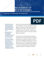 The Art and Science of Competency Modeling