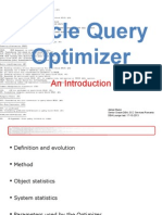 Oracle Query Optimizer - An Introduction
