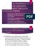 Activities & Materials to Encourage Aesthetic Development Through
