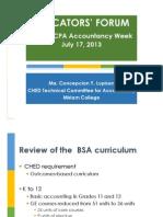 Review of BSA Curriculum