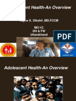 Adolescenthealth Anoverviewdr Dikshit 120627122217 Phpapp01