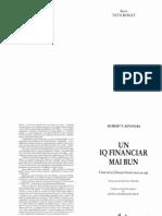 Robert Kiyosaki, Un IQ financiar mai bun