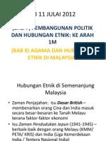 I-12 Pembangunan Politik Dan Hubungan Etnik