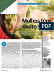 Revista Proteste - Teste Molhos Para Salada (Setembrode 2012)