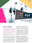Folleto divulgativo de CEHAD, Primer Curso de Especialización en Historia del Arte Digital