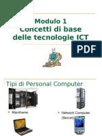 ECDL Modulo 1 Concetti Di Base Della Tecnologia DellInformazione
