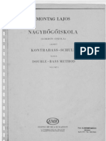 Montag Lajos - Double Bass Method ( Kensey )