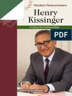 Henry Kissinger Modern Peacemakers