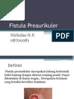 Fistula Preaurikuler