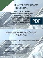 CRIMINOLOGÍA - ENFOQUE ANTROPOLÓGICO CULTURAL