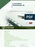 Conceptos Básicos Metodología de la enseñanza