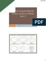 Curve Policentriche Ovali Ovoli Spirali BIS 2xpag-105