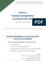 1.Ventaja competitiva y creación de valor(2)