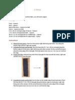 Cdress Instructions Original