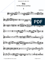 Andre Previn - Trio for Oboe, Bassoon and Piano