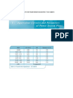 AREVA Transformer Parameters Guide
