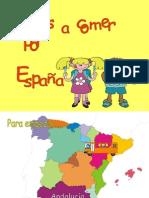 La gastronomía española.Los platos típicos.