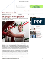 Inspeção obrigatória - Revista Síndico