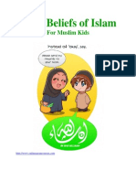 Basic Beliefs of Islam (Book for Muslim kids)
