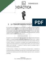 Modulo Transposicion Didactica