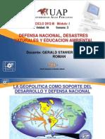 3A SEMANA Sistema de Defensa Nacional y Gestion de Riesgo