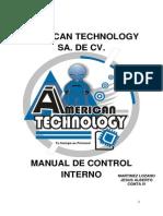 #26 Martinez Lozano Jesus Alberto Manual Control Interno