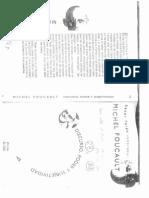 Foucault- Discurso, Poder y Subjetividad